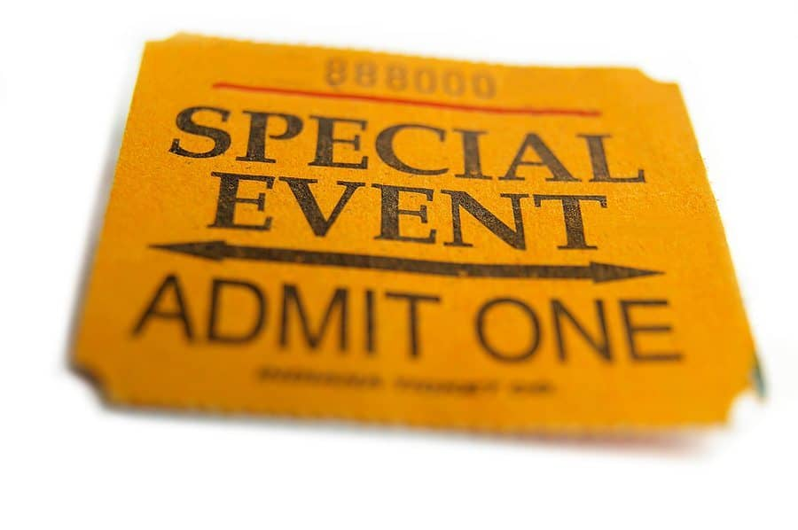 Concert Ticket Invitations with beautiful invitations example