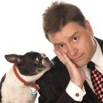 Todd Oliver and his talking dog
