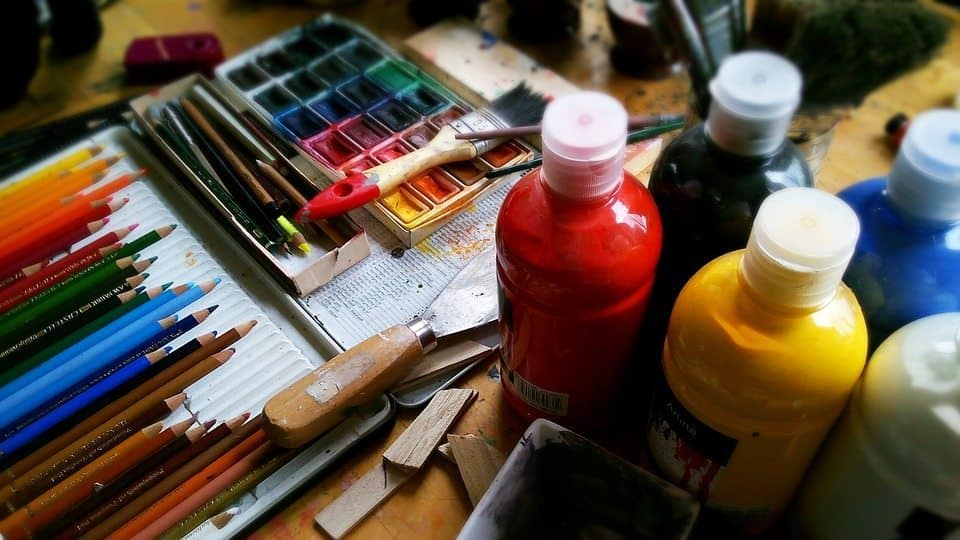 paint, art, artist, brushes, live art