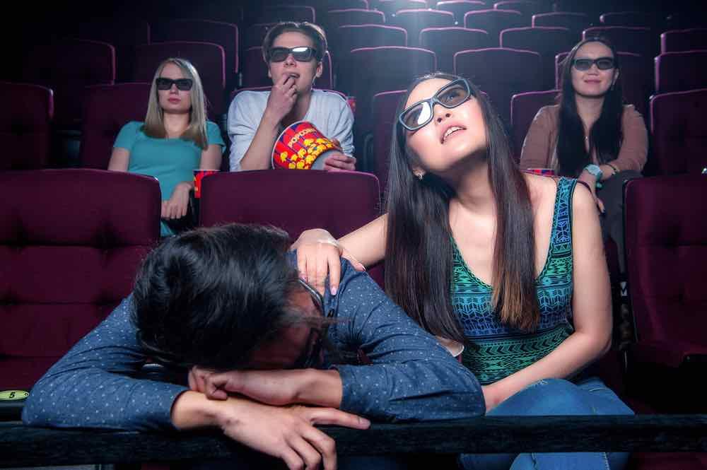dark, sleep, boring, movie