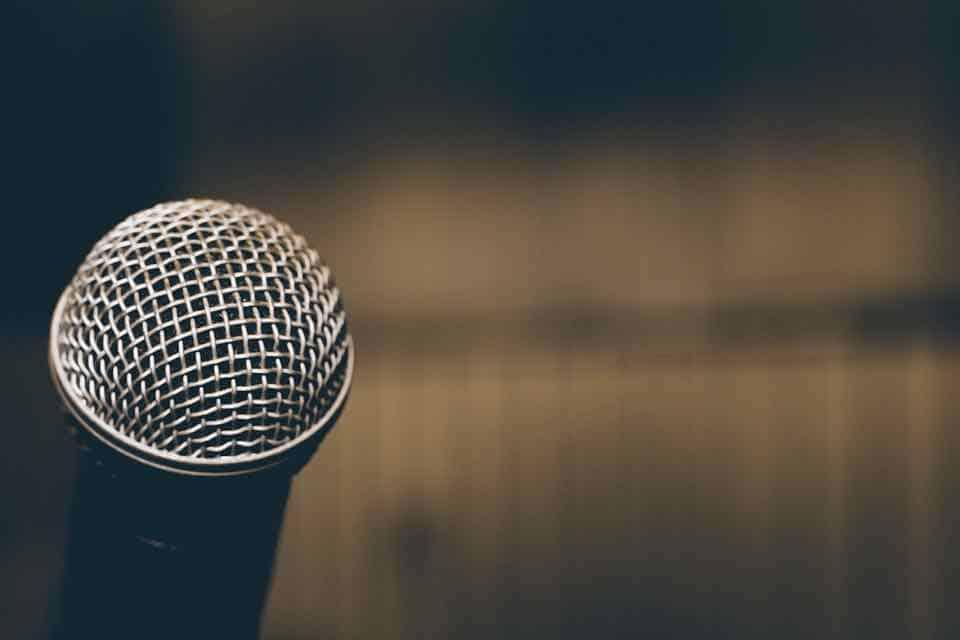 mic, speech