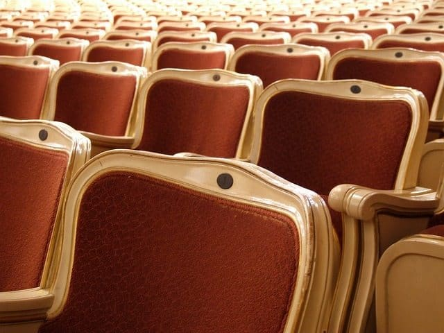 chair, theatre, performing, arts, event