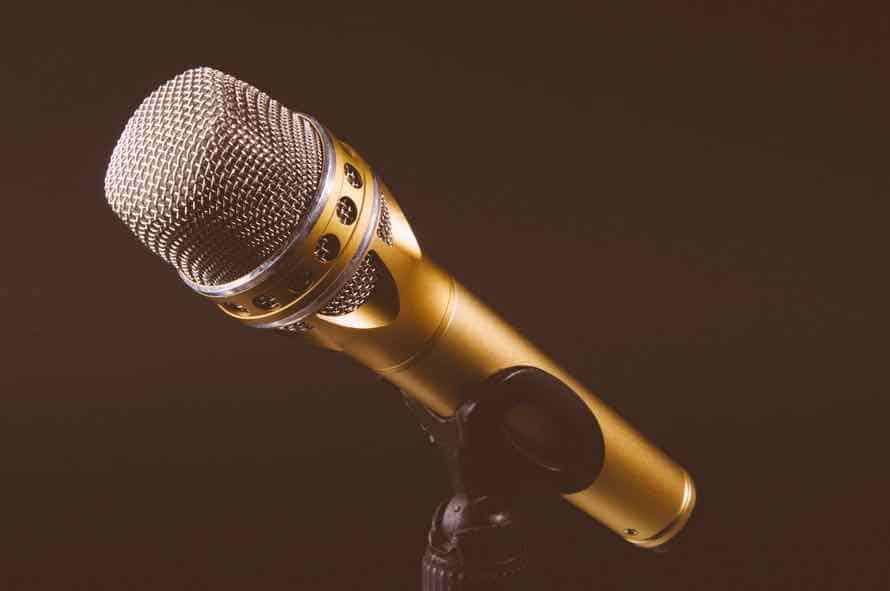 mic, stage, speaker, entertainment