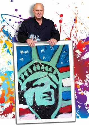 Glitter Painter Robert Channing Will Make Your Next Corporate Event Shine