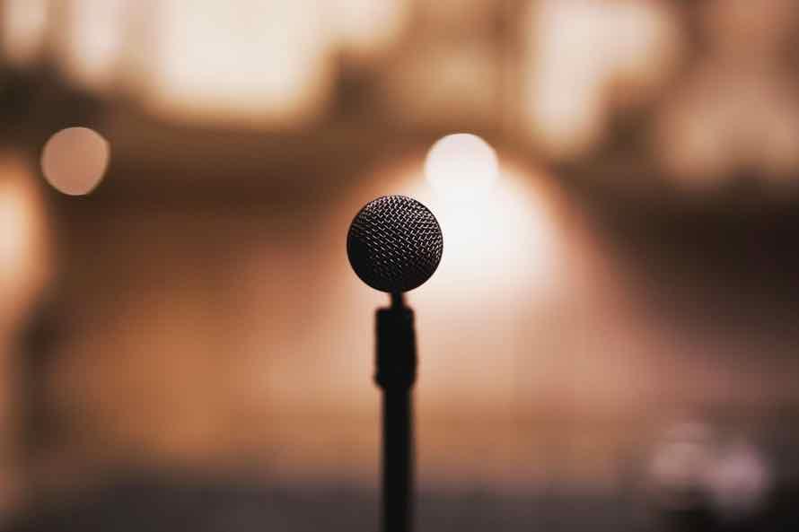 mic, speaker