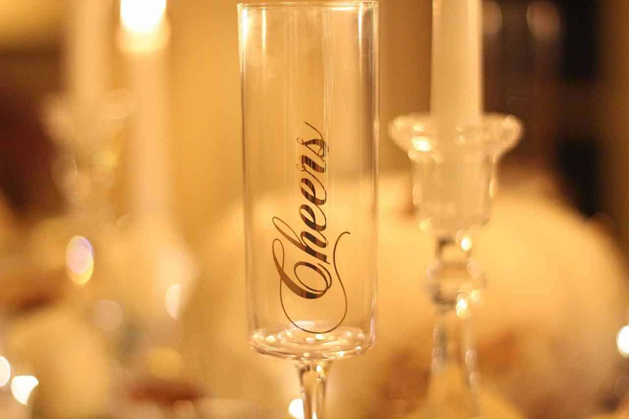 cheers, party, event, dinner