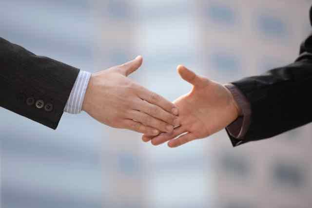 hand, shake, trust