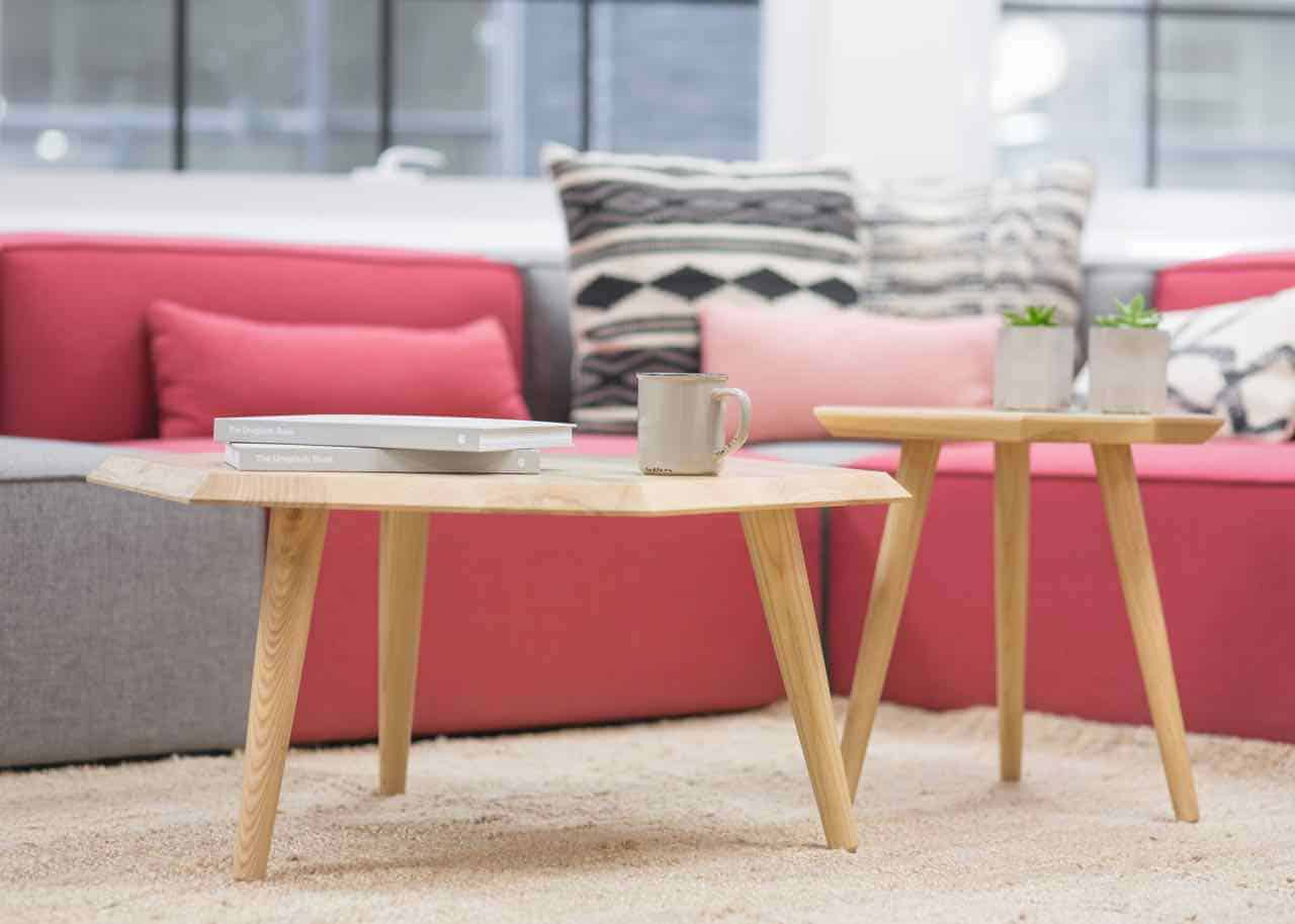 table, pillow, living room