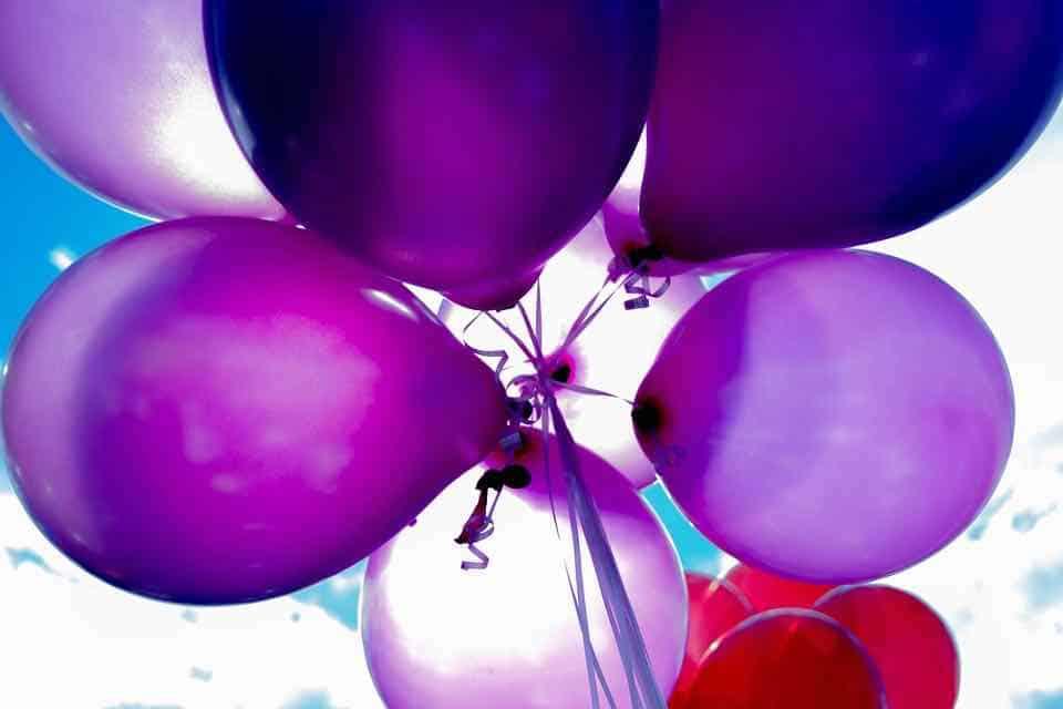 party, ballons