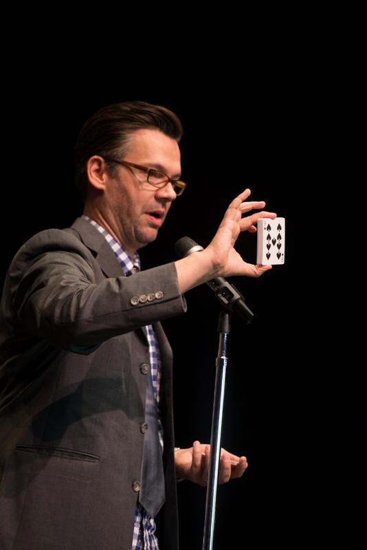 Derek Hughes Is a One-Of-a-Kind Theatrical Magician and Mentalist